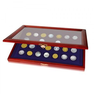 Challenge Coin Display Case For Casino Chips or Coins to 40mm