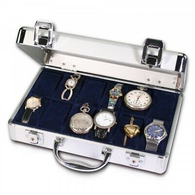 Aluminum Watch Collecting Case