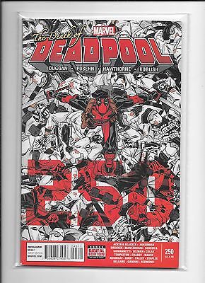Deadpool #45 (250th Issue) Death of Deadpool First Printing Marvel Comics (2015)