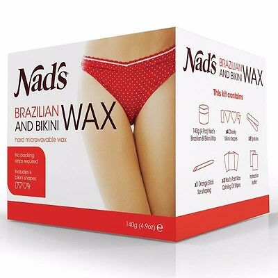 Best Price! Nads Brazilian Wax Bikini Kit  Nad's 140G Discount Chemist
