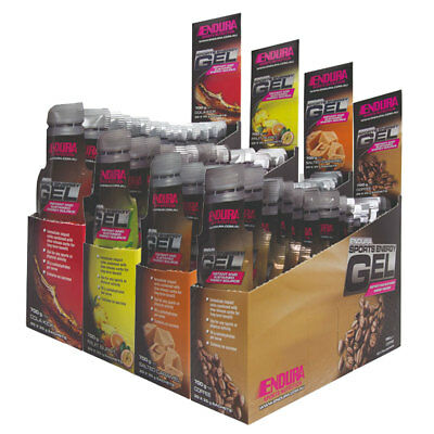 Best Price! Endura Sports Energy Gels 20 X 35G Gels Box All Flavours