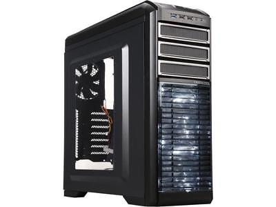 DEEPCOOL KENDOMEN Black ATX Mid Tower Computer Case Preinstalled 5 Cooling Fans