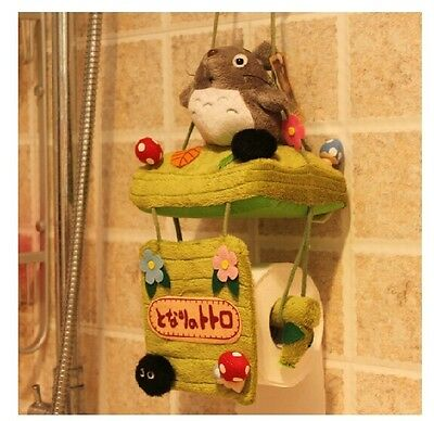 Free Shipping The Swing TOTORO Bathroom Toilet  Roll Towel Paper Holder