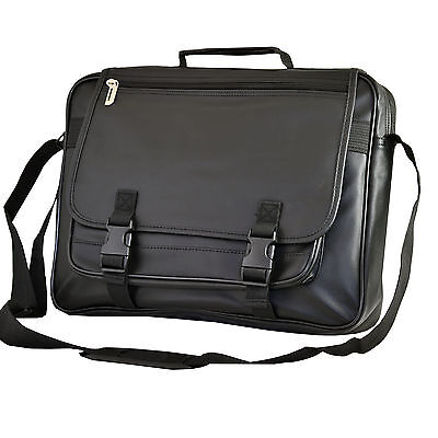 Faux Leather Business Laptop Computer Case Bag For MacBook Pro 15 inch.