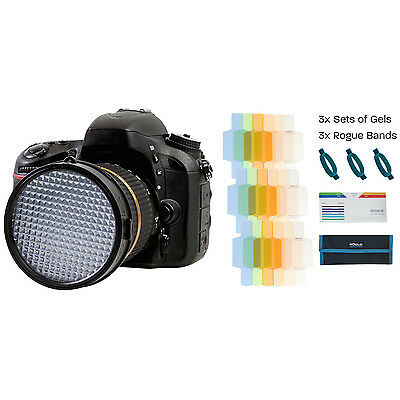ExpoDisc 2.0 - 77mm (Expo Disc) + Rogue Flash Gels - Color Correction Kit