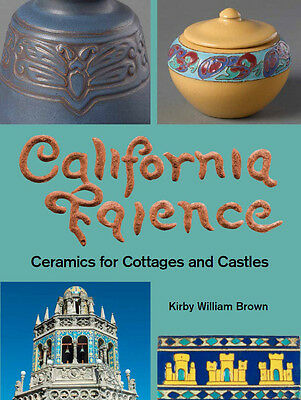 New Book on CALIFORNIA FAIENCE pottery
