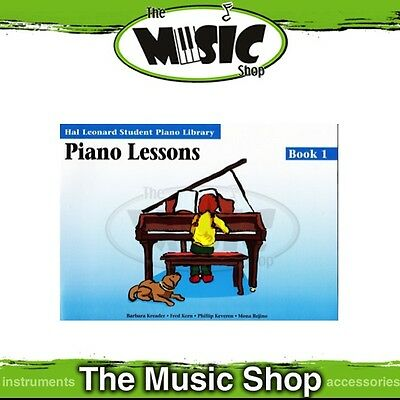 New HLSPL Piano Lessons Book 1 - Hal Leonard Student Piano Library