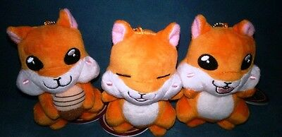 Akatsuki no Yona Yona of the Dawn 3 PlushKeyChain set squirrel Ao adores limited