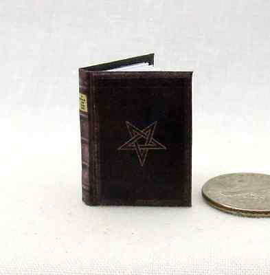 NOVEM PORTIS, THE NINTH GATE Readable Illustrated Miniature Book 1:12 Scale Book