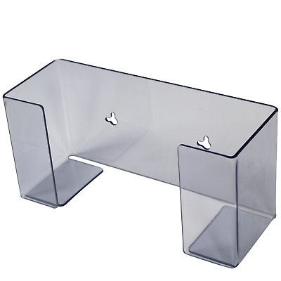 Glove box holder dispenser clear perspex inc fittings 1 or a deal for 2 Shield