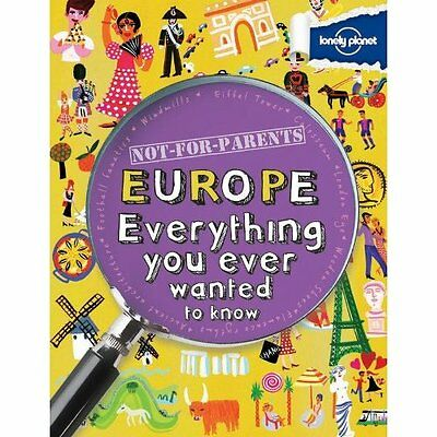 Not for Parents Europe Lonely Planet Publications PB / 9781743219133