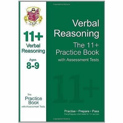 11+ Verbal Reasoning Practice Book with Assessment Tests CGP Books 9781847628190