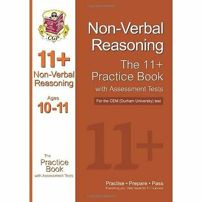 11+ Non-verbal Reasoning Practice Book with Assessment Tests CGP . 9781847625663