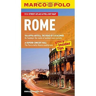 Rome Marco Polo Guide MAIRDUMONT GmbH Co. KG PB / 9783829706773
