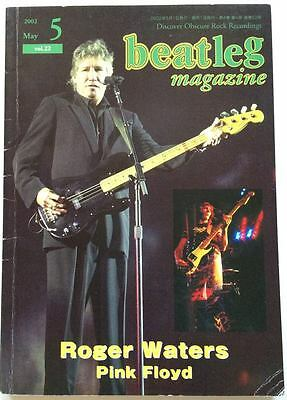 beatleg 5/2002 Japan Music Magazine Roger Waters Pink Floyd Bruce Springsteen