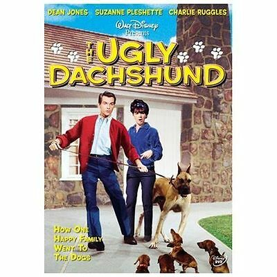 Disney DVD - The Ugly Dachshund - 2004. Funny Movie For The Family :) W~insert!!
