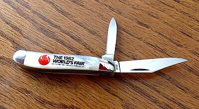 Case XX Pearl Handle Peanut 1982 Worlds Fair Knoxville Tn Pattern #8220