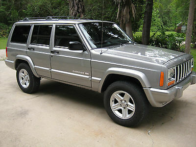 Jeep : Cherokee Limited Sport Utility 4-Door 2000 jeep cherokee limited 4 wd 4.0 l engine gorgeous