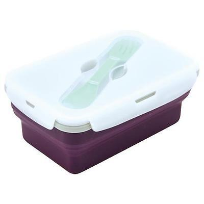 Eco Vessel Purple Smashbox Lunchbox 1 Compartment - Leak Proof Food Container
