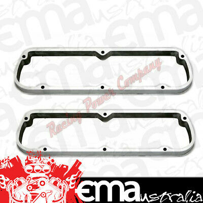 """Rpc 1-3/8"""" Valve Cover Spacers Rpcr7667 Polished Suit Ford Sb 289-351W V8"""