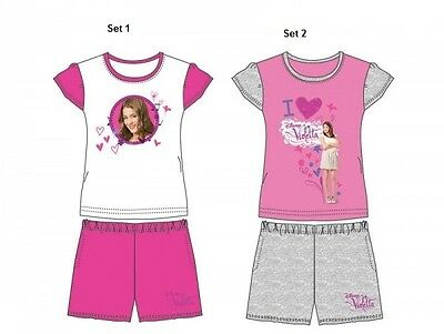 Beach Set * Strand Outfit * T-Shirt & Shorts * Kinder Outfit Set Disney Violetta