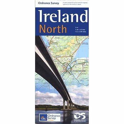 Holiday Map North 2011 Ordnance Survey of Northern Ireland Land P. 9781905306619