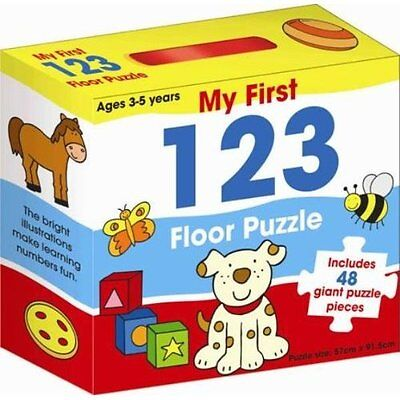 My First 123 Floor Puzzle Stationery miscellaneous items (Childre. 9781742483122