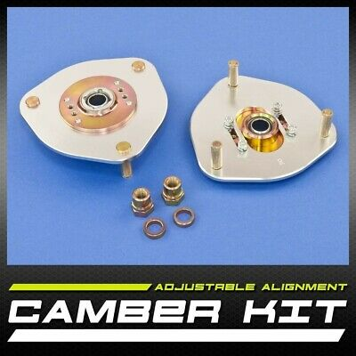 New Pair Left & Right ¦ Front Camber & Caster Kit ±2.50 ¦ Evo VII VIII IX 7-9