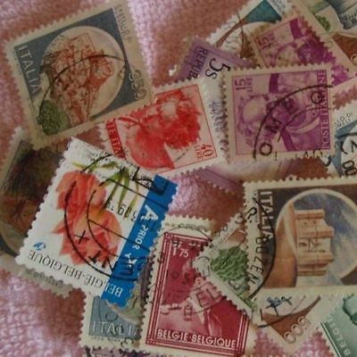 2 Used Stamps Selected From Worldwide Lots Free Shipping to Canada and USA