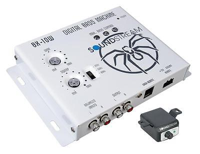 Soundstream BX-10W White Digital Bass Boost Processor Remote Control Epicenter