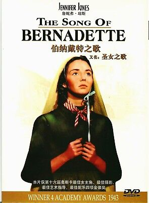 "New DVD  ""The Song Of Bernadette"" Jennifer Jones"