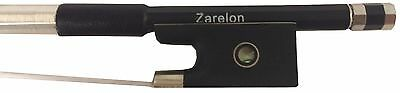 4/4 Stunning Carbon Fiber Violin Bow with Zarelon Unbreakable Acoustic Bow Hair