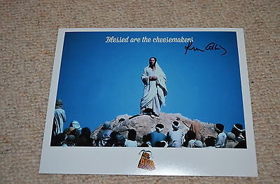 KEN COLLEY signed Autogramm 20x25 cm In Person MONTY PYTHON LEBEN DES BRIAN