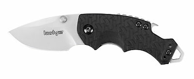 Kershaw Shuffle Knife-Folding Every Day Carry W/Bottle Opener-Black-8700