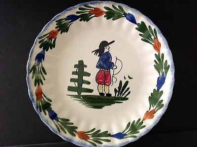 Blue Ridge French Peasant Colonial Salad Plate