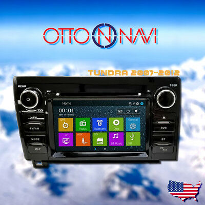 GPS Navigation Touch Screen Multimedia Radio for Toyota Tundra 2007 - 2012