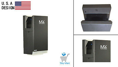 New Design COMMERCIAL BATHROOM Automatic Hand Dryer High Speed Low Power-GREY