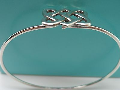 933c5df43 Tiffany & Co. Sterling Silver Paloma Picasso Celtic Knot Cuff Bangle  Bracelet