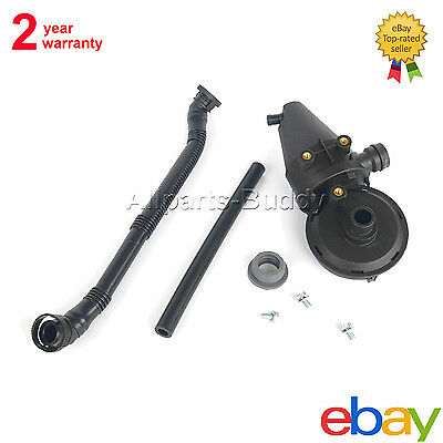 Valve Crankcase Breather Hose Kit For BMW E36 323i 328i M52 E39 520i 523i 528i