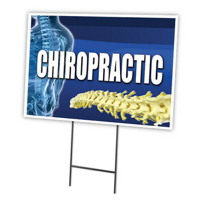 """ACUPUNCTURE 12/""""x16/"""" Yard Sign /& Stake outdoor plastic coroplast window"""