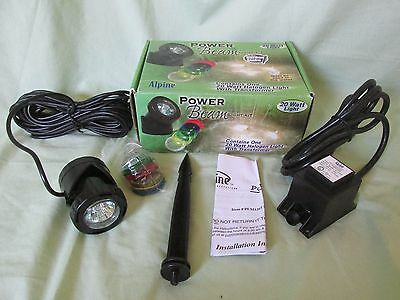 New Alpine Corporation Power Beam Underwater Pond Light Kit 20-Watt PLM120T