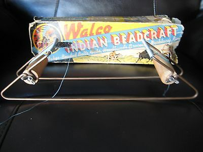 Vintage Walco Indian Beadcraft Beading Loom-1935-Made In The USA!!-Original Loom
