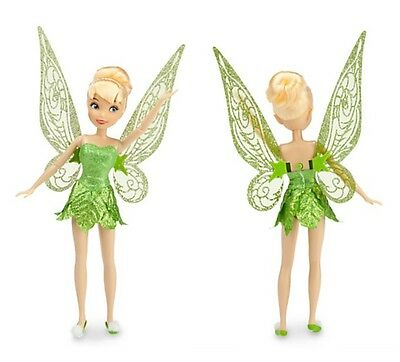 """2014 Disney Store Tinkerbell Classic 10"""" Fairy Doll"""