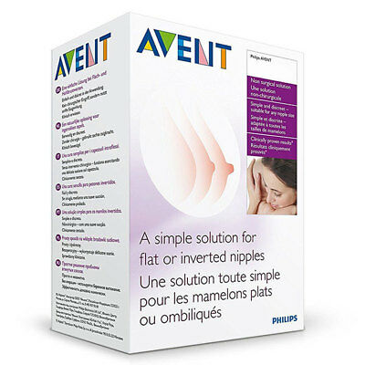 Philips Avent 2 Niplette Twin Pack Simple Solution For Flat Or Inverted Nipple