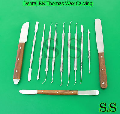 Dental Laboratory Technician Kit P.k Thomas Wax Carving Plaster Knife Wx-0028