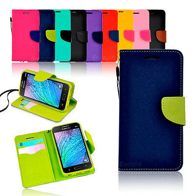 New Diary Gel Wallet Case Cover for Samsung Galaxy J1 Ace J16 J2 J3 Pro J1 Mini
