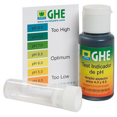 Test Kit de Gotas GHE para medir el pH (de 4.0 a 8.5 pH)