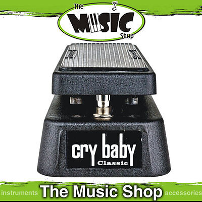 Dunlop Classic Crybaby Wah Pedal - Fasel Inductor - True Hardwire Bypass GCB95FL