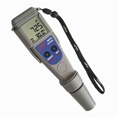pH Metro / Medidor de pH y Temperatura Waterproof Adwa ± 0,01 pH (AD12)