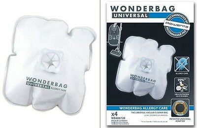 Rowenta Sacchetti Wonderbag Universal Allergy Care 4 Sacchi Endura Wb484720